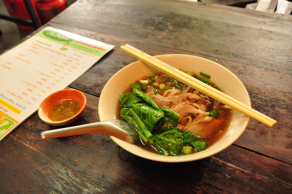 you want to know what rules? duck noodle soup.