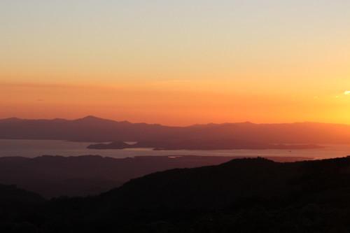 sunset costarica monteverde peninsula nicoya