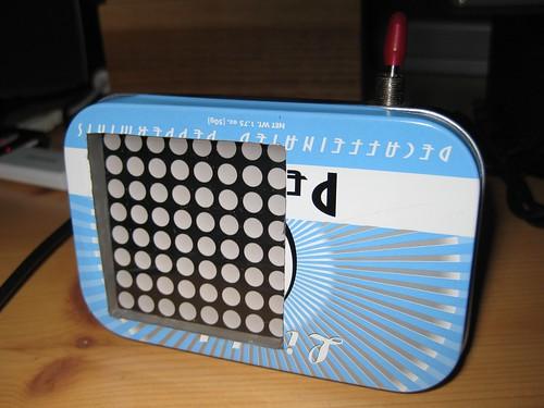 attiny2313 8x8 led-matrix