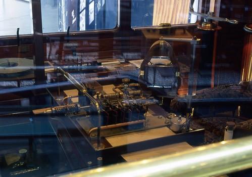 LNER Dynamometer car inside