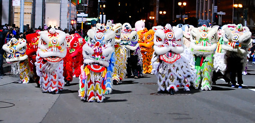 Chinatown New Year events