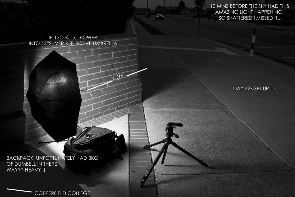 Day 227 setup shot by jameshill photography