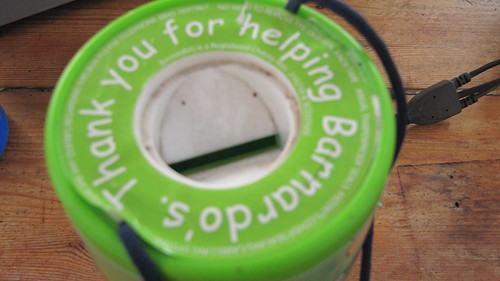 Barnardo's collecting box