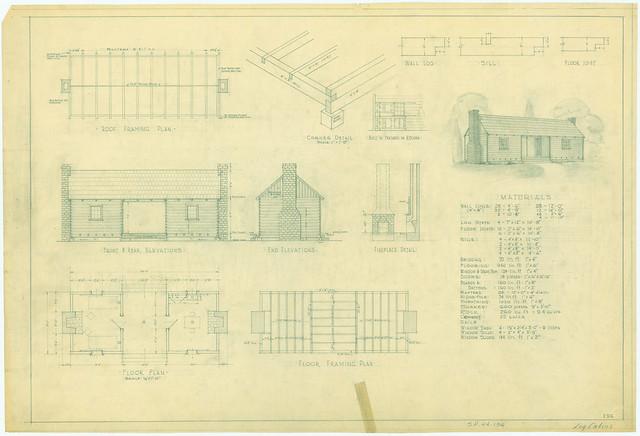 Texas Log Cabin Floor Plans Find House Plans