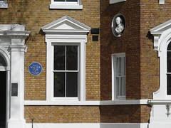 Photo of John Walter blue plaque