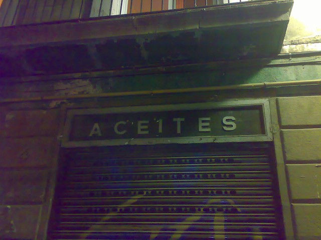 Header of Aceites