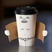 Exhibitionist coffee cup by Laser Bread
