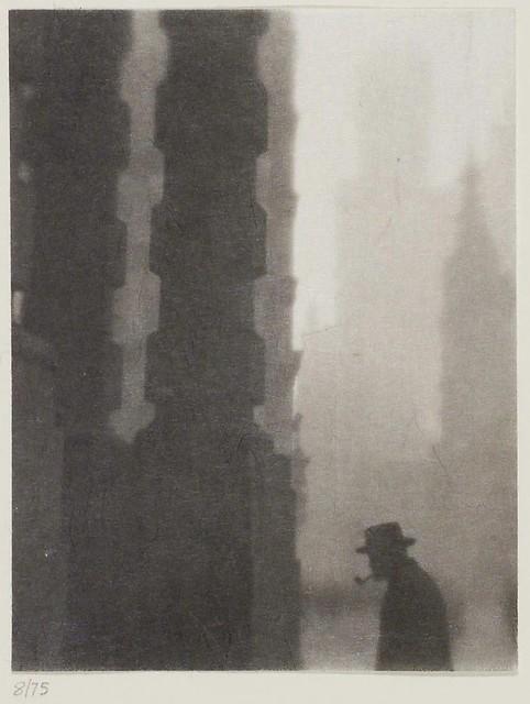 Lower Broadway, New York, 1912, by Karl Struss