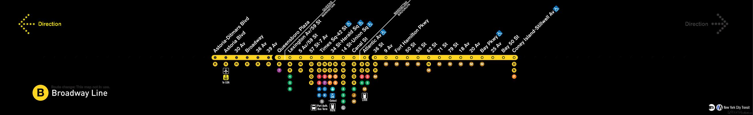 Subway Map R Train.R142 143 Strip Maps Version 3 0 Artwork And Graphic Design Nyc