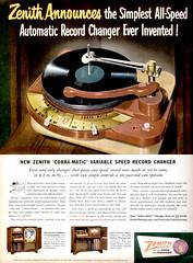LIFE 1950-08-28 Zenith Ad