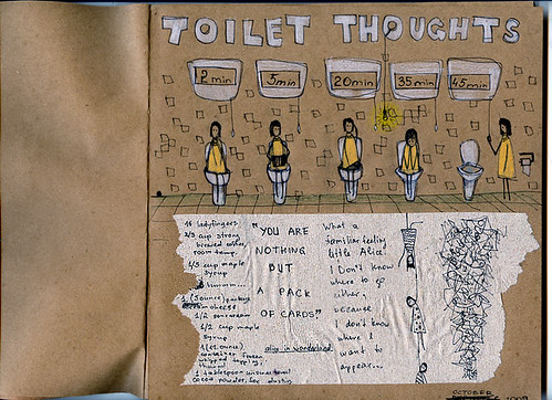 toilet thoughts by nakedsilence