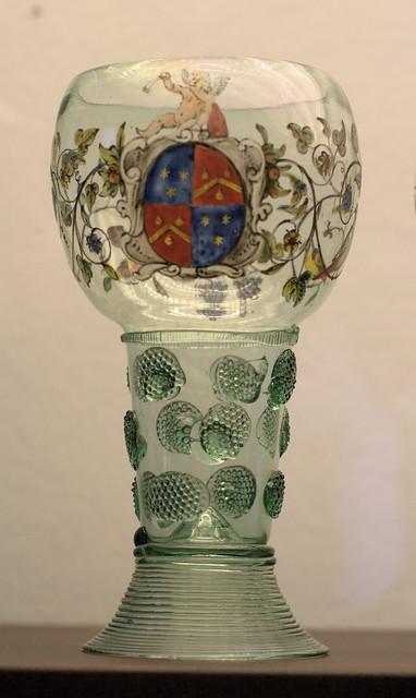 Museum Boijmans van Beuningen - glas met wapen 2