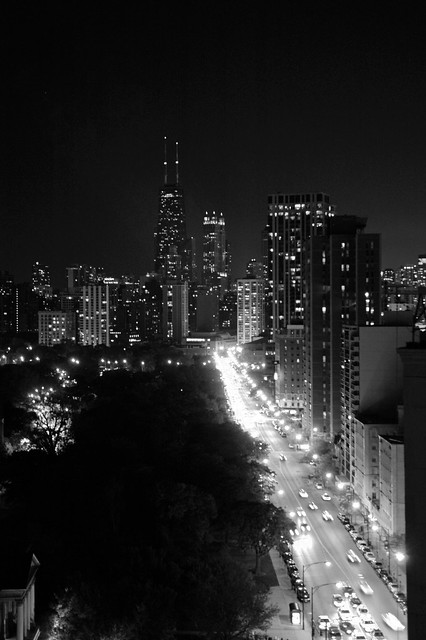 Chicago Night by Kevin VanEmburgh