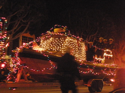 Seal Beach Holiday Parade, December 2009