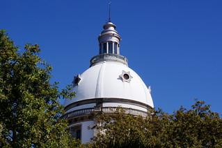 Obrázek Santuário do Sameiro. blue sky portugal azul 2008 braga sundayschool sameiro catequese sonydslra200 céu