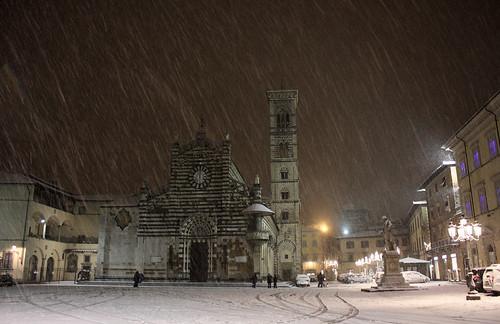 Neve a prato flickr for Piazza duomo prato