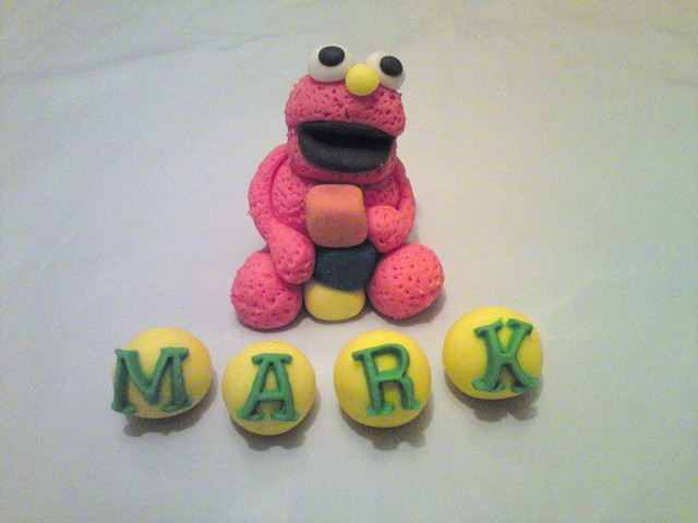 Elmo Cake Toppers Decorations : elmo cake topper Flickr - Photo Sharing!