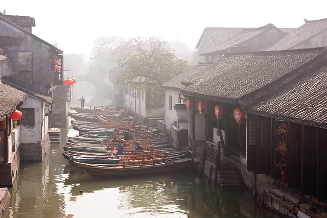 Boats in Zhouzhuang