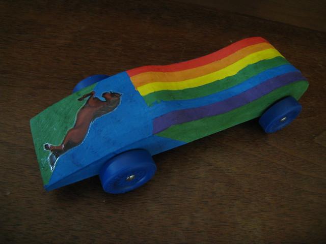 Cutesiest pinewood derby car ever flickr photo sharing