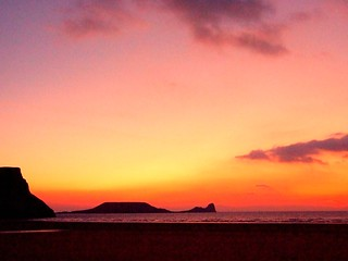 Rhossili Sunset