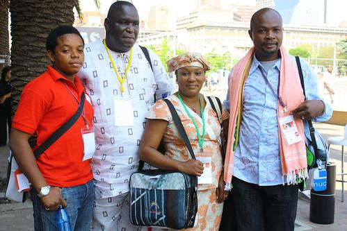 Delegates arriving at Museum Africa