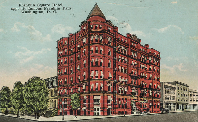 Franklin Square Hotel C 1923 Flickr Photo Sharing