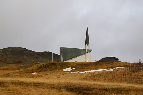 Church, Iceland by Bryan Pocius