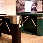 Old Subway Turnstiles: Transit Museum