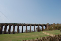 Southern 377 crossing Ouse Valley Viaduct, Balcombe