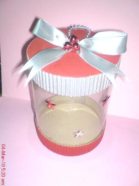 Bote dulcero de carton corrugado flickr photo sharing for Cajas de carton infantiles