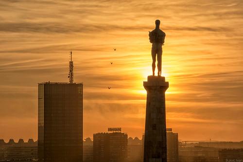 belgrade beograd serbia srbija sunset bukvicivan nikond5200 d5200 sun