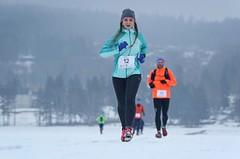Lipno Ice Marathon se běžel poprvé po ledu