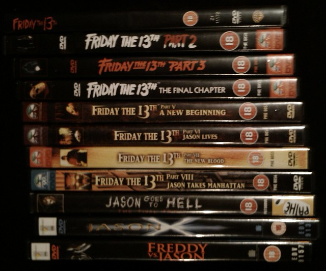 friday the 13th - microreviews