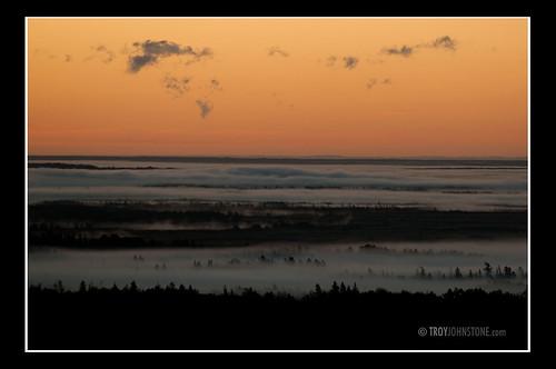 morning canada fog sunrise newbrunswick sackville tantramarmarsh 33kmseofmoncton