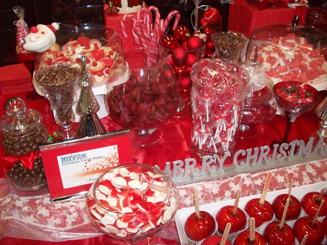 Christmas Candy Buffet Bar Flickr Photo Sharing