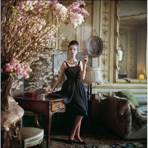Vintage Dior 1960s Paris shoot from Vogue