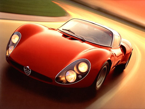 Alfa Romeo 33 Stradale Prototipo by teh_vandroid