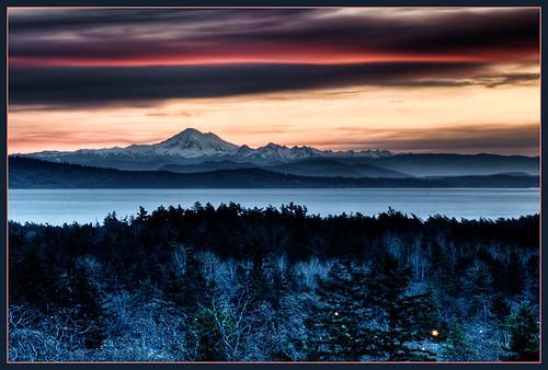 sunrise landscape dawn bc victoria hdr mtbaker mttolmie blueribbonwinner vancoverisland mywinners abigfave flickrdiamond platinumheartaward