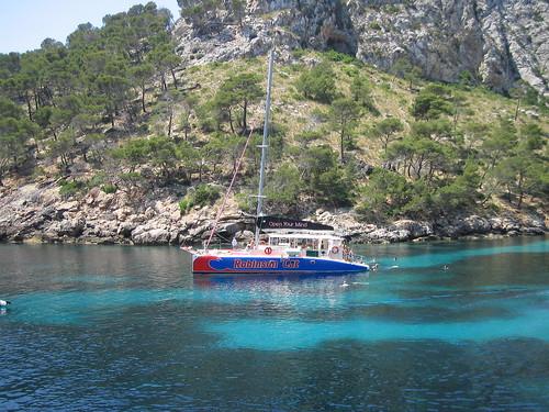 Una excursión en barco o en catamaran en Mallorca?