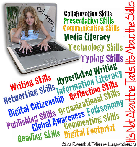 Blogging- It is not abuot the Tools...It's about the Skills