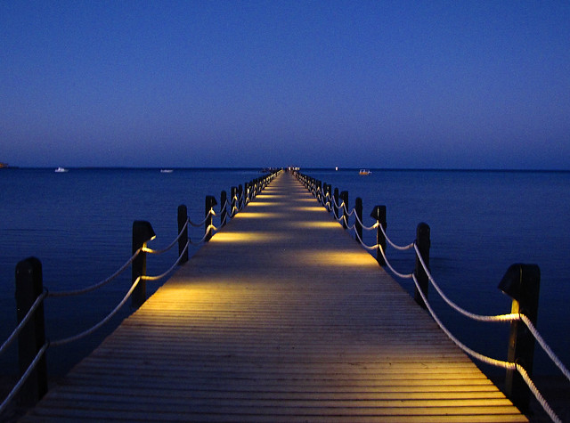 Solar Dock Lighting