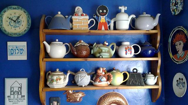 Mum's Teapots