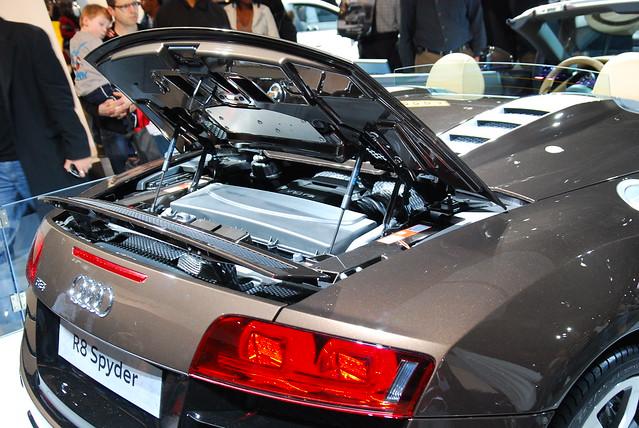 Audi R8 Spyder Engine 1 Flickr Photo Sharing