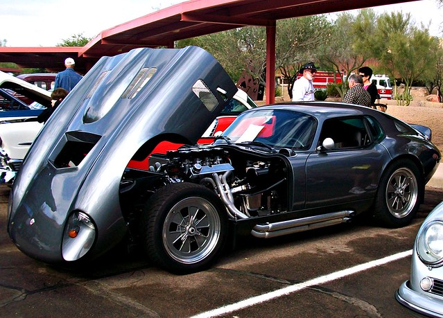 Shelby Cobra Coupe Daytona group 3 1963  Racing Cars