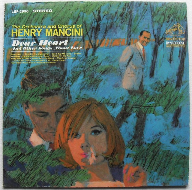 1960s Henry Mancini Dear Heart Vintage Vinyl Record Album