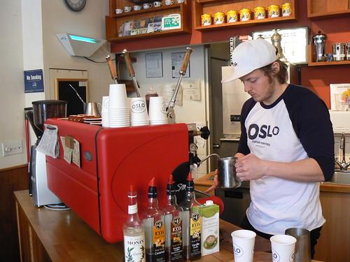 Oslo Coffee Company, Bedford Ave
