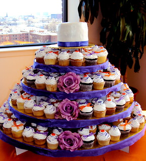 Wedding Cupcake Tower