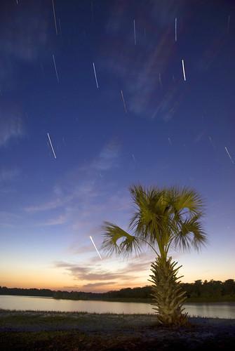sunset sky cloud water stars florida trail palmtree panamacity startrails tyndallairforcebase bonitabay mattgerlachphotography