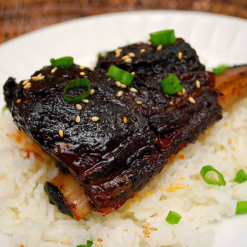 Korean Style Short Ribs (Crockpot) - What's Cookin, Chicago