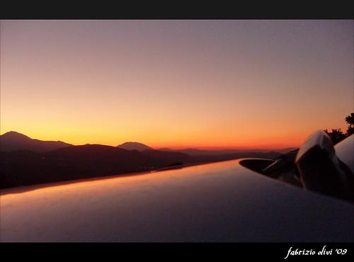 sunset sky look landscape evening tramonto fabrizio cielo 2009 paesaggio myshot sera olivi